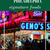 Philly's signature foods