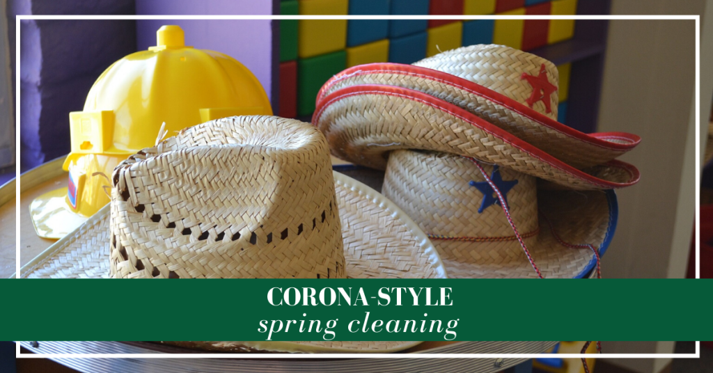 Spring cleaning becomes Covid-19 donations