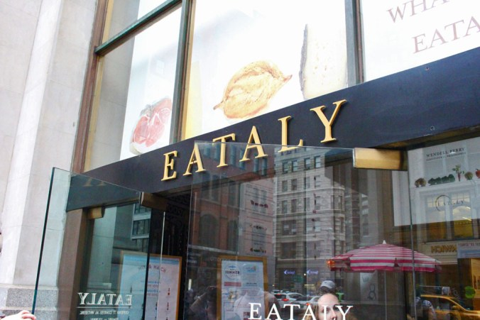 Eataly, NYC Flatiron, New York