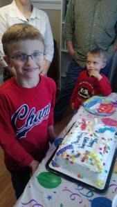 Jeffery's 10th Birthday