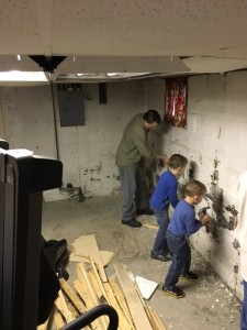 Wk 1 - Working Together on Basement