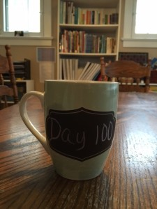 Wk 4 - Reached 100 days of school