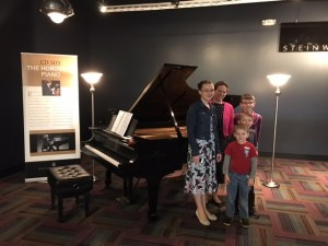 Wk 18 - Our family with Horowitz piano