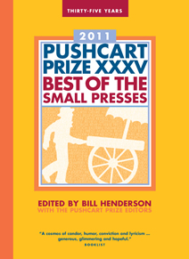 Pushcart Prize book cover