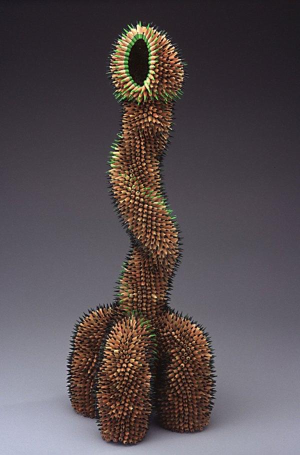 Jennifer Maestre Pencil Sculpture And