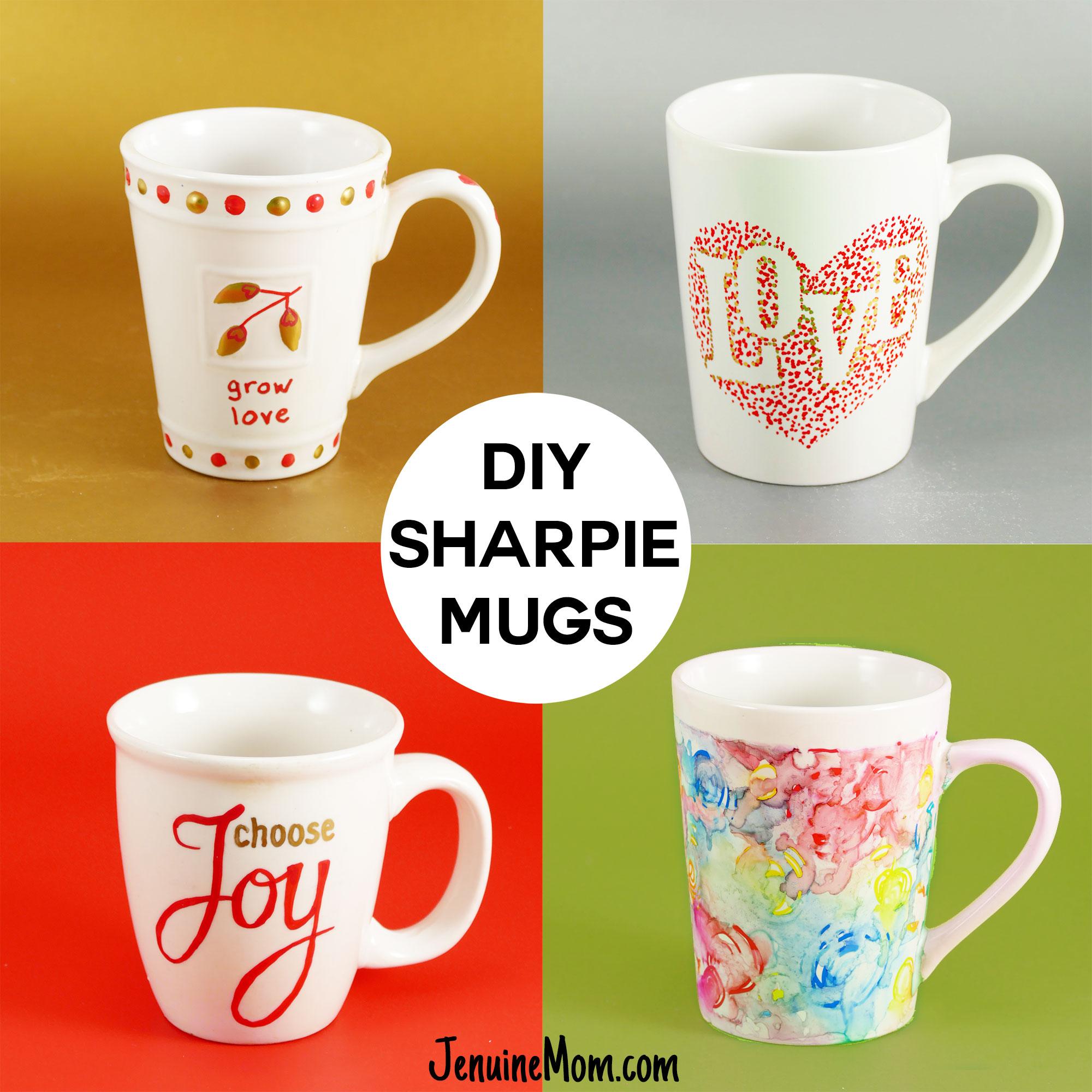 diy sharpie mugs for