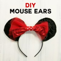 DIY Mouse Ears Tutorial - Sew or No-Sew! - Jennifer Maker