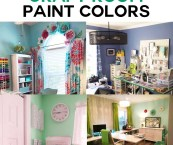 craft room color ideas