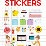 Easy Print Cut Stickers On A Cricut Jennifer Maker