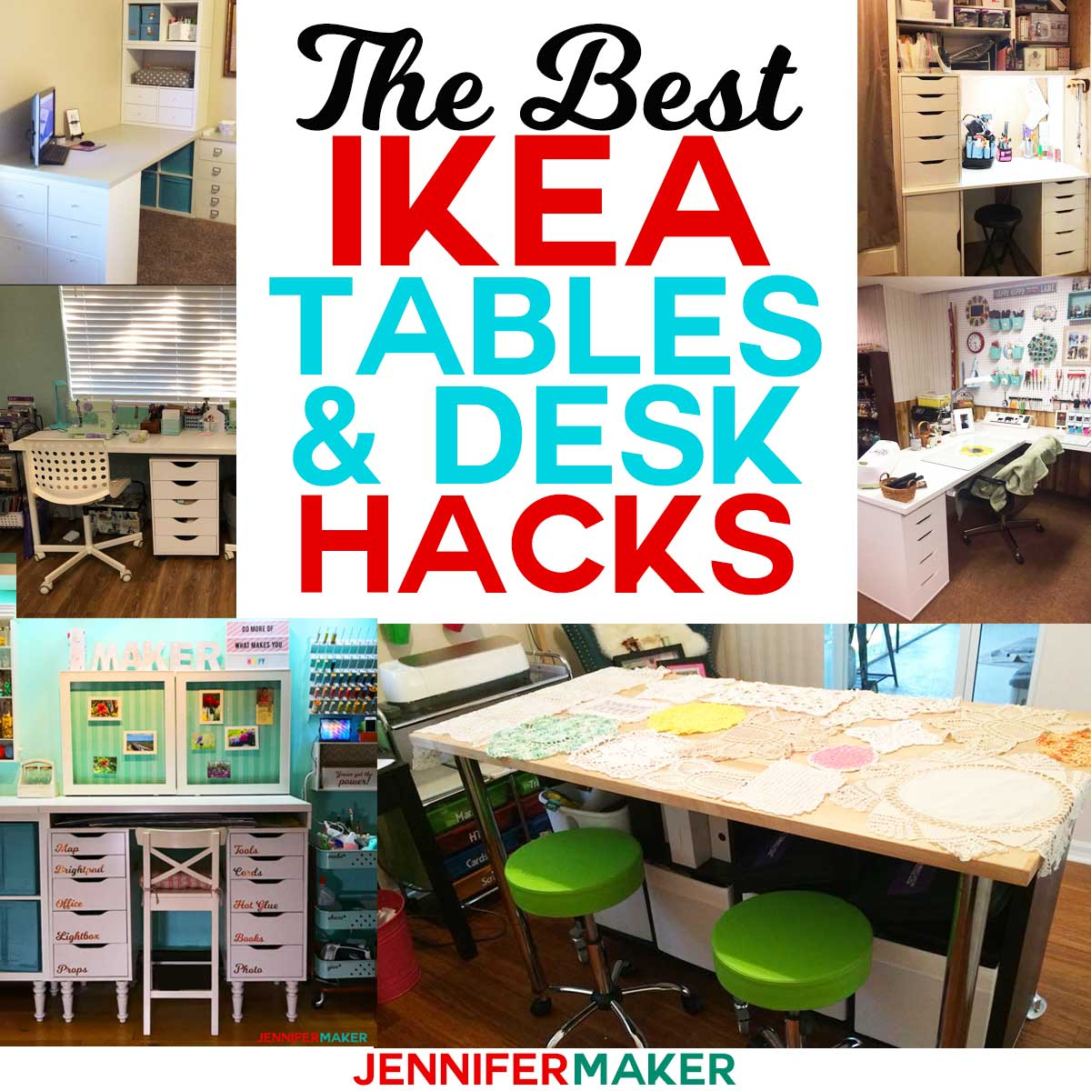 ideas for craft room chairs noir furniture the best ikea tables and desks jennifer maker