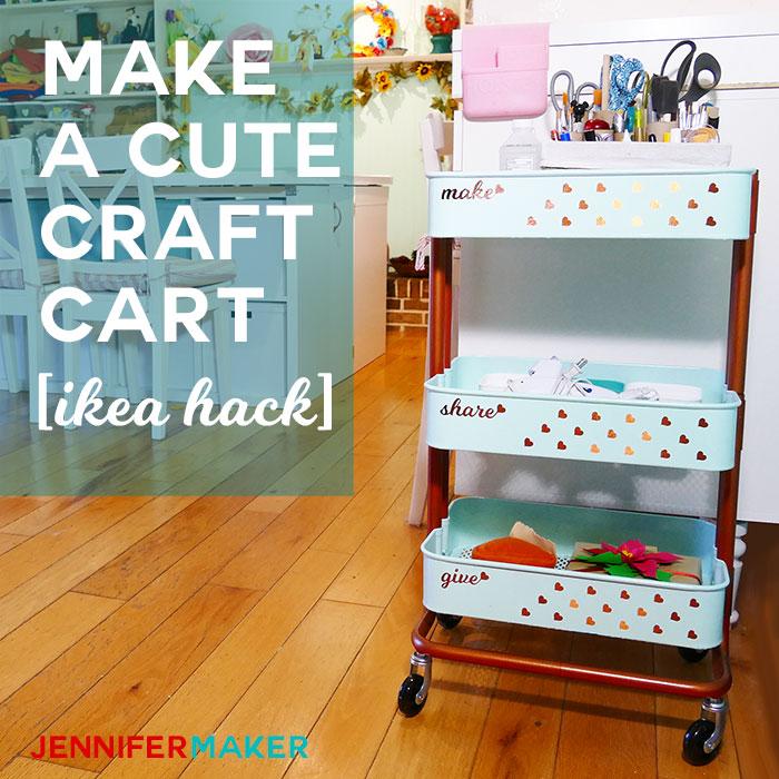Ikea Craft Cart