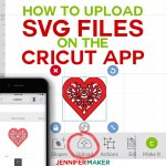 How To Upload Svg Files To Cricut Design Space App On Iphone Ipad Jennifer Maker