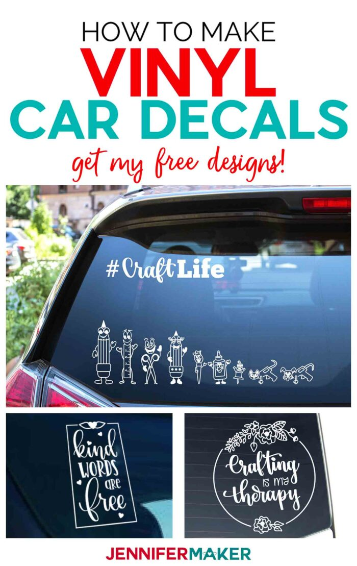 How to Make Car Decals with Cricut Explore Air 2