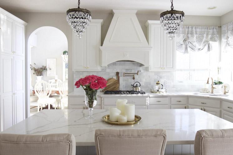 White Marble Kitchen Ideas Home Lifestyle Jennifer Maune