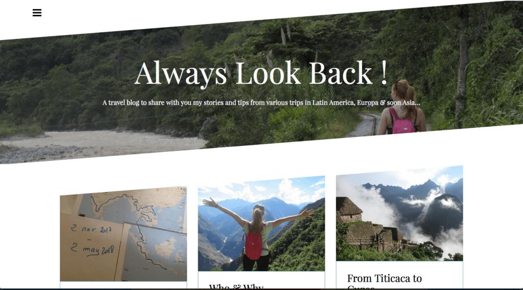 Look Back Packer