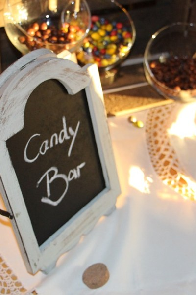 Candy Bar Wedding & Branding