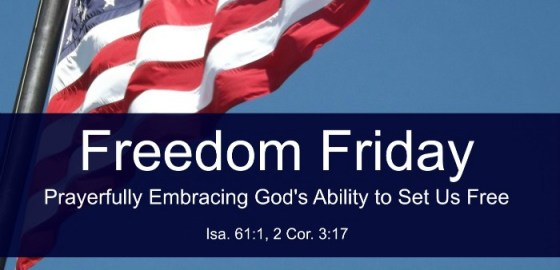 embrace God's ability to set us free