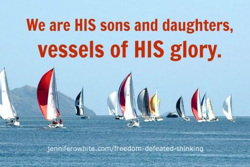 vessels of God's glory