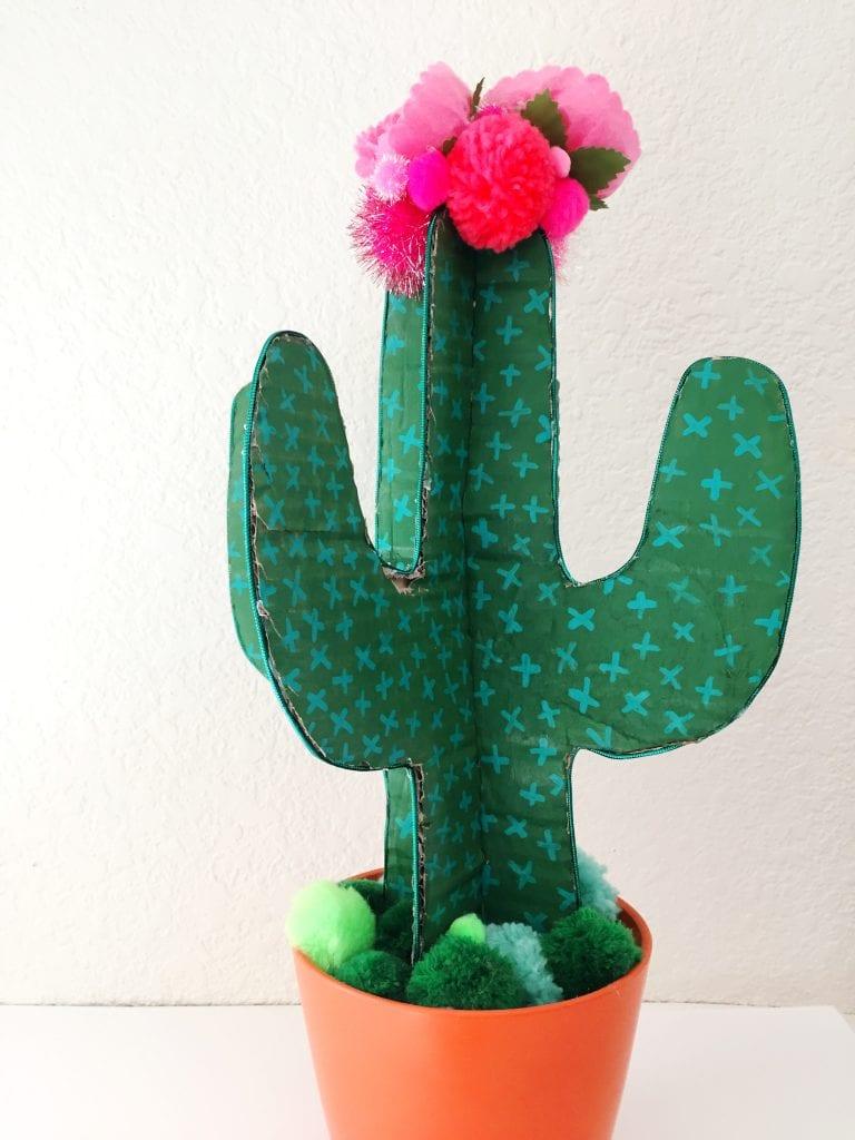 Crafty Cardboard Cactus A DIY That Never Dies Or Pricks