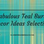 5 Fabulous Teal Burlap Decor Ideas Selection