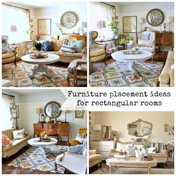 furniture placement in a rectangular living room modern curtains ideas the jennifer rizzo