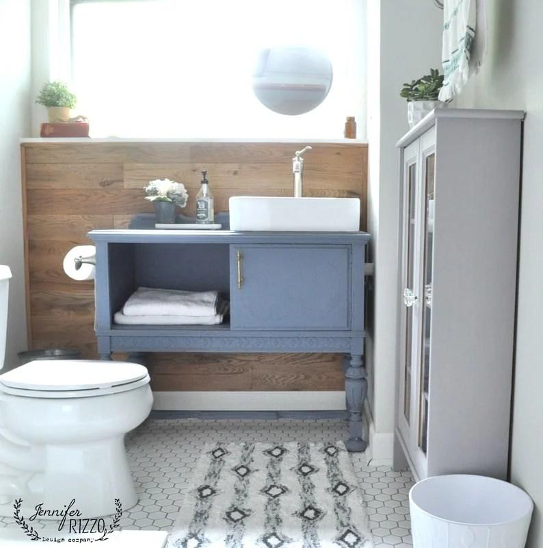 Guest Bathroom Renovation On A Budget Jennifer Rizzo