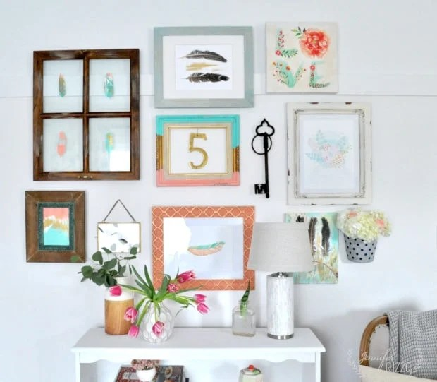 Make a gallery wall with these simple steps