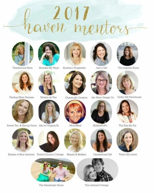 Jennifer Rizzo Haven Mentor and Haven mentors 2017