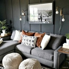 Gray Paint Colors For Living Room Wall Decorations On Trend Dark Jennifer Rizzo Taryn Whiteaker