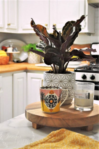 fall kitchen decor small space early with crops home decoration