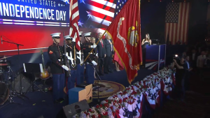 The Marine Security Guard Detachment Presents The National Colors