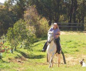 Riding Sheba