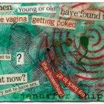 ATC Mixed Media Collage by Jennifer Shipley