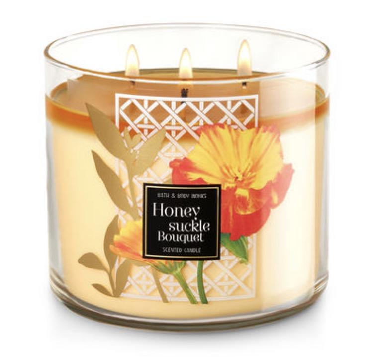 BBW honeysuckle bouquet