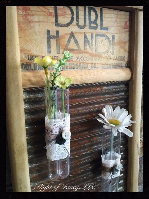 Alana test tube vases