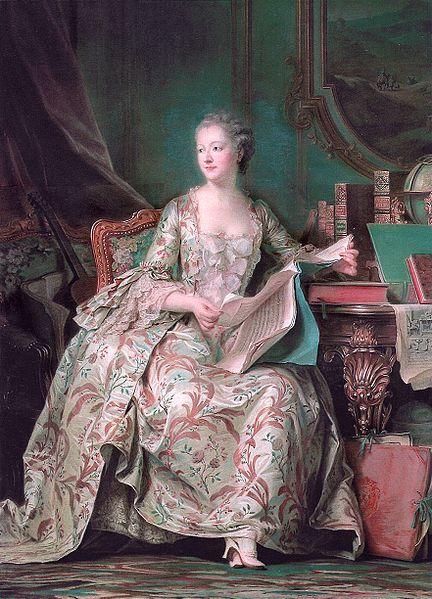 Mauriece Quentin de la Tour 1748-1755
