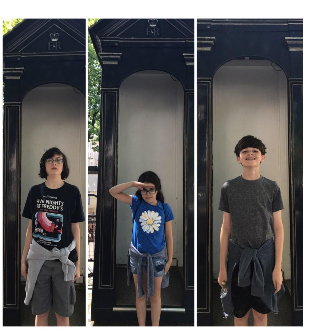 kids guard stand