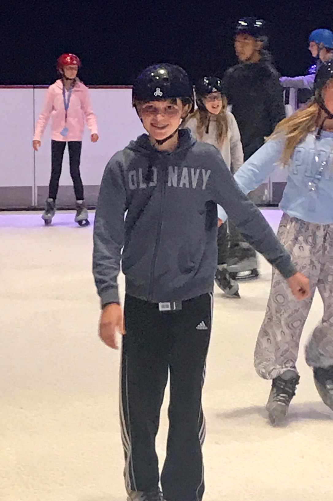 Colin skating on Allure