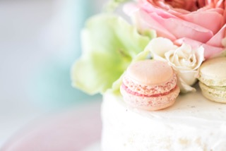 pure love macaron close up