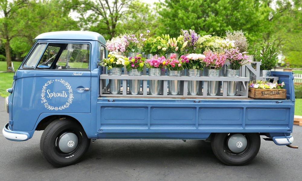 spouts flower truck