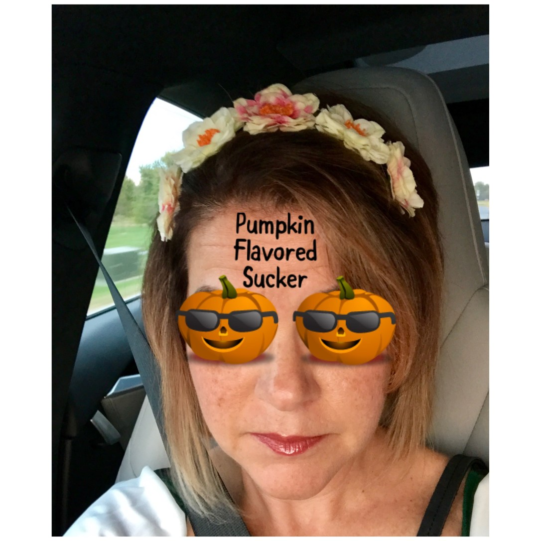 Pumpkin selfie