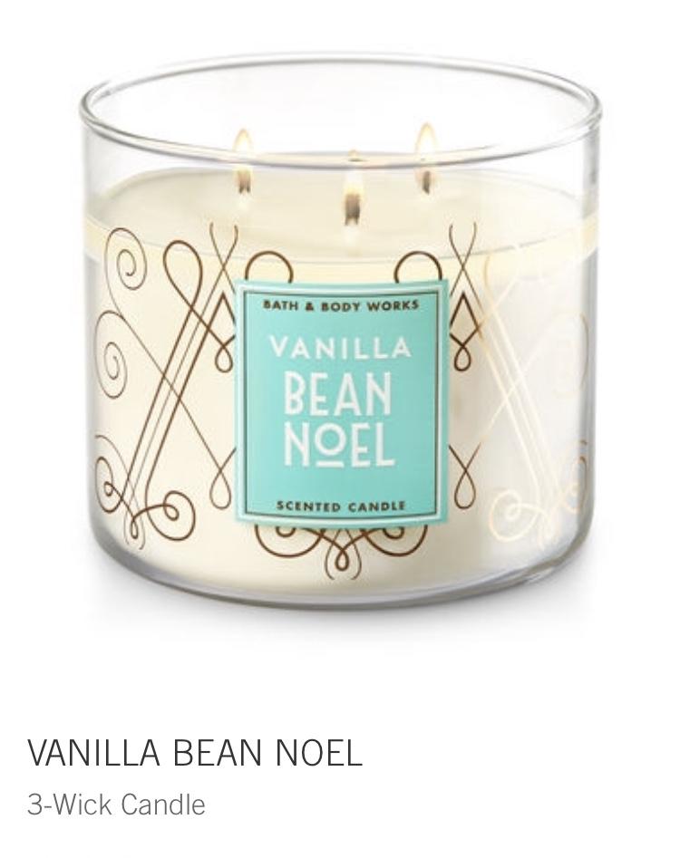 vanilla bean noel