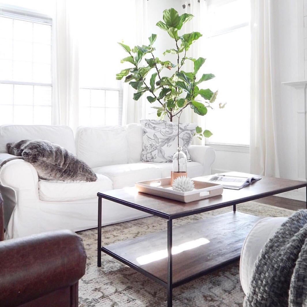 Olive and Ford white sofa