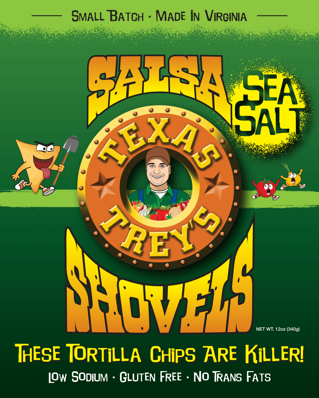 Salsa Shovels Sea Salt Front