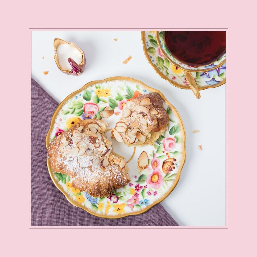 Sandrine - plated croissant