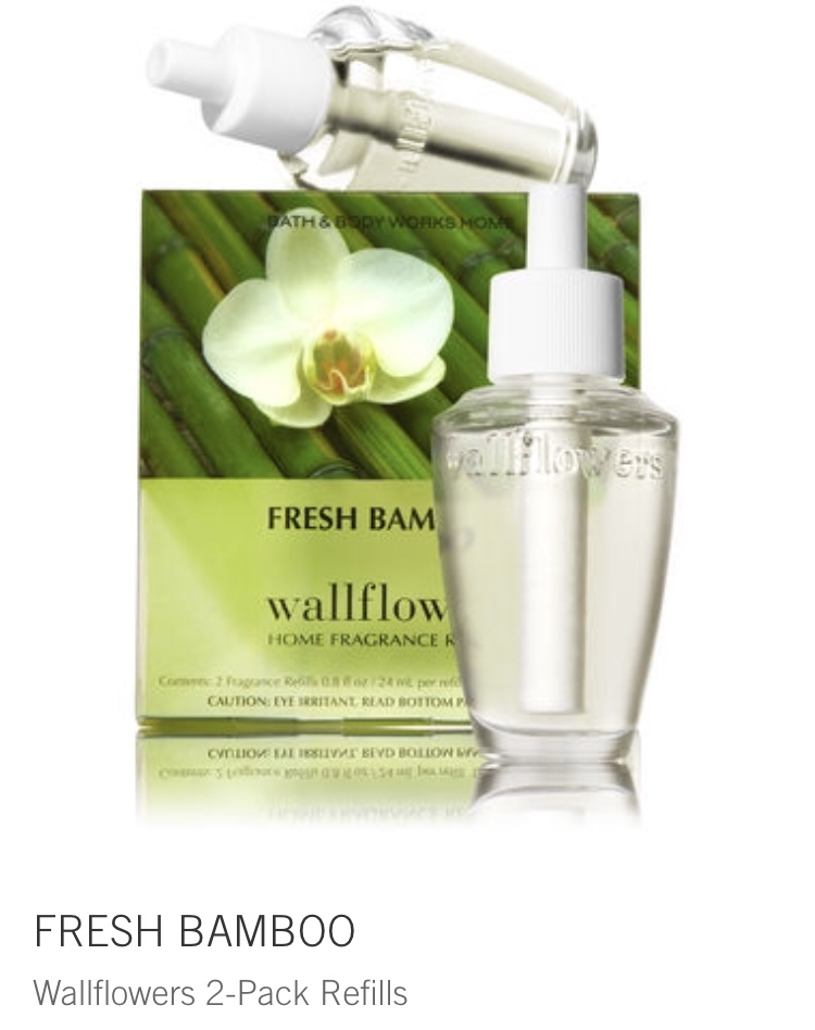 bath and body - fresh bamboo