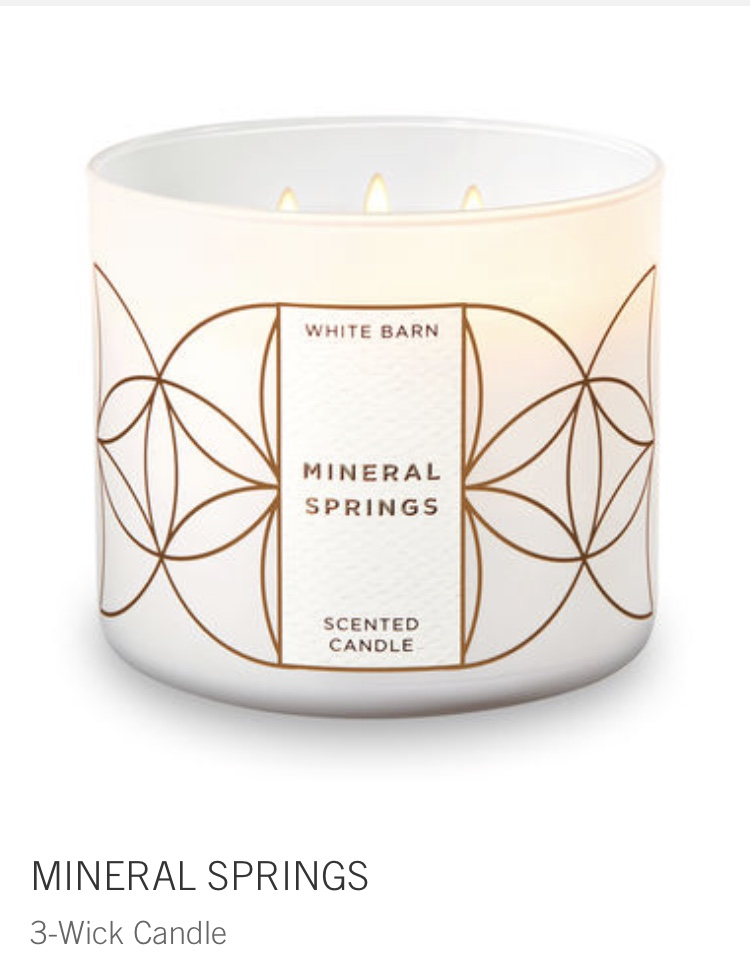 bath and body - mineral springs