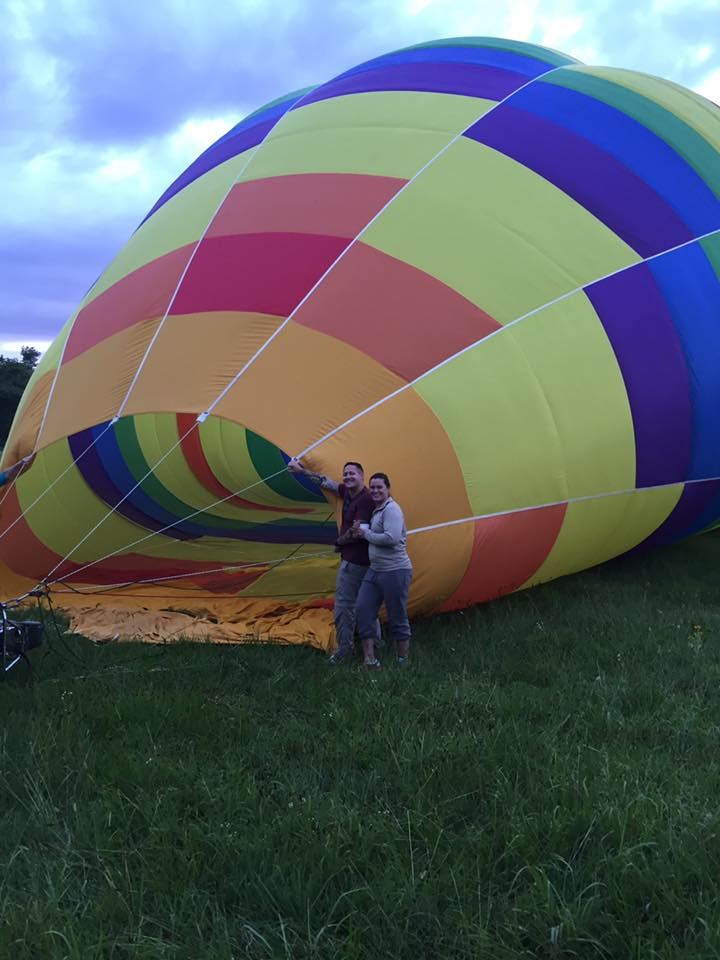 inn at westwood farm - hot air balloon