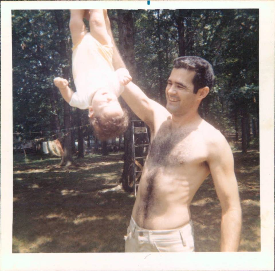 Bob with upside down chris