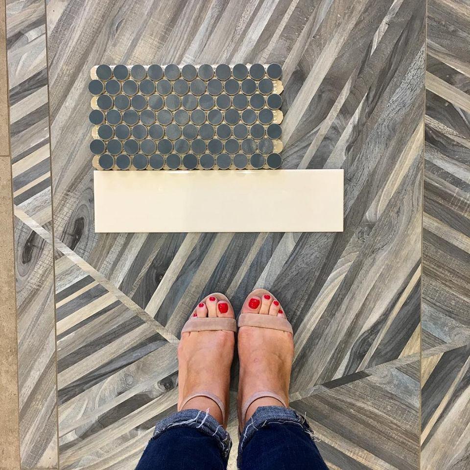 Maison Warehouse flooring